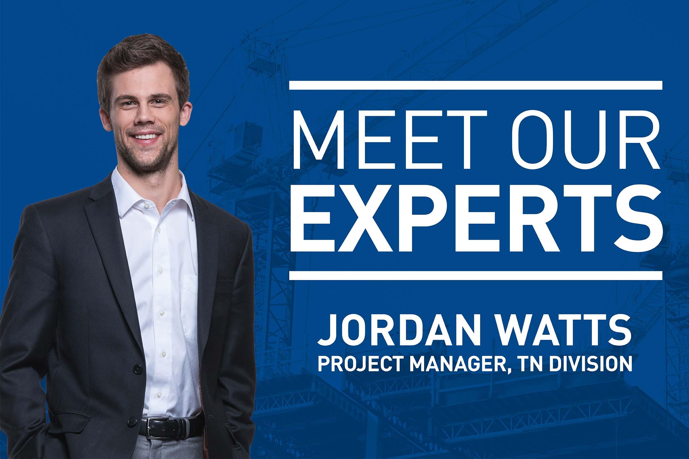 Meet Our Experts: Jordan Watts
