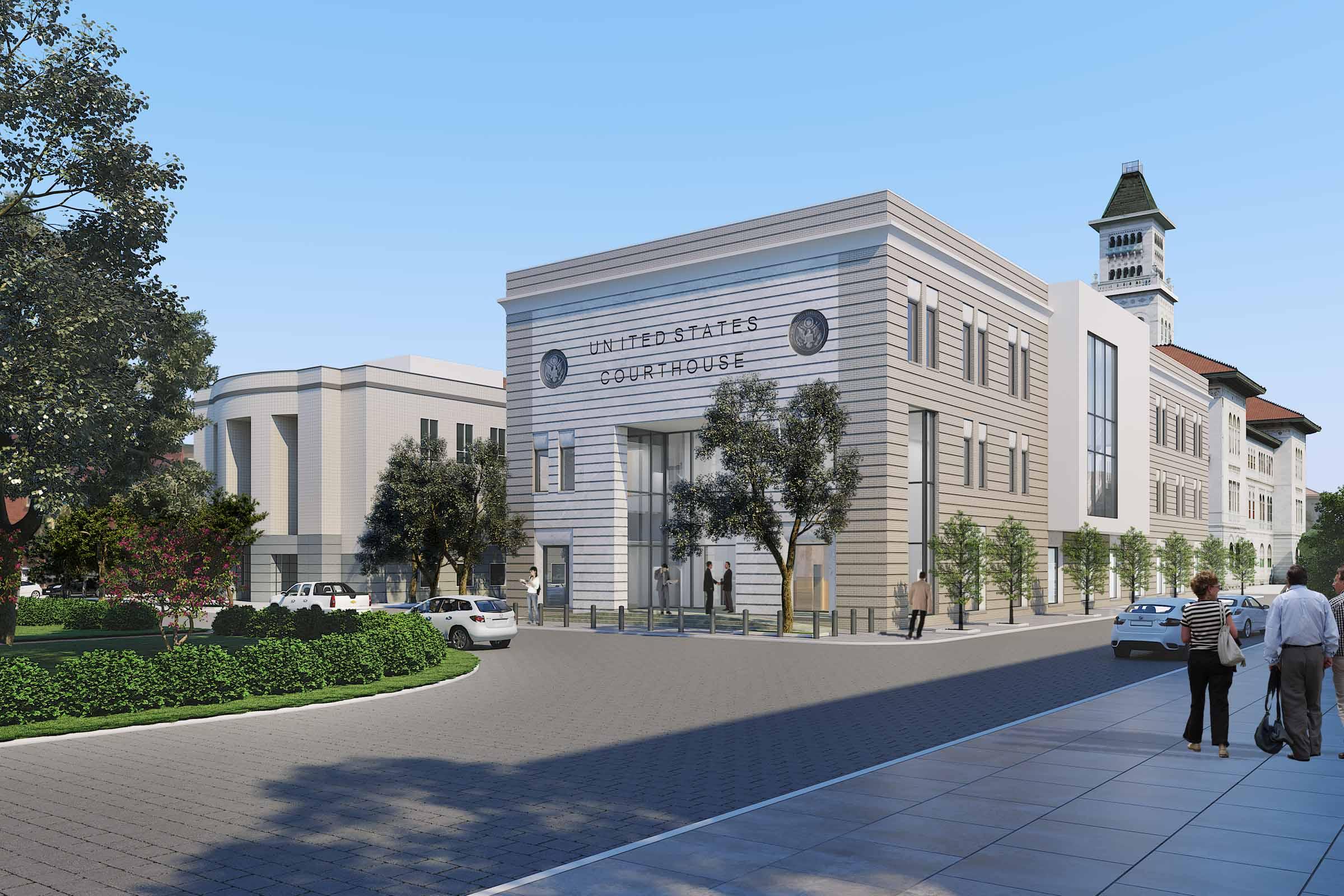 Tomochichi Courthouse Annex
