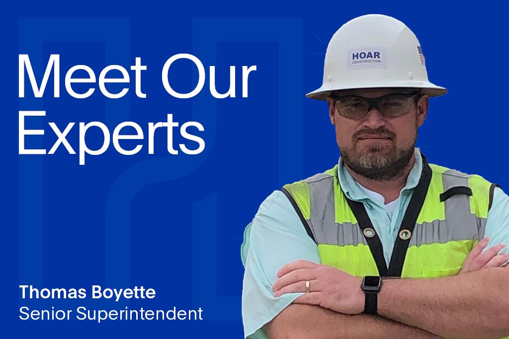 Meet Our Experts: Thomas Boyette