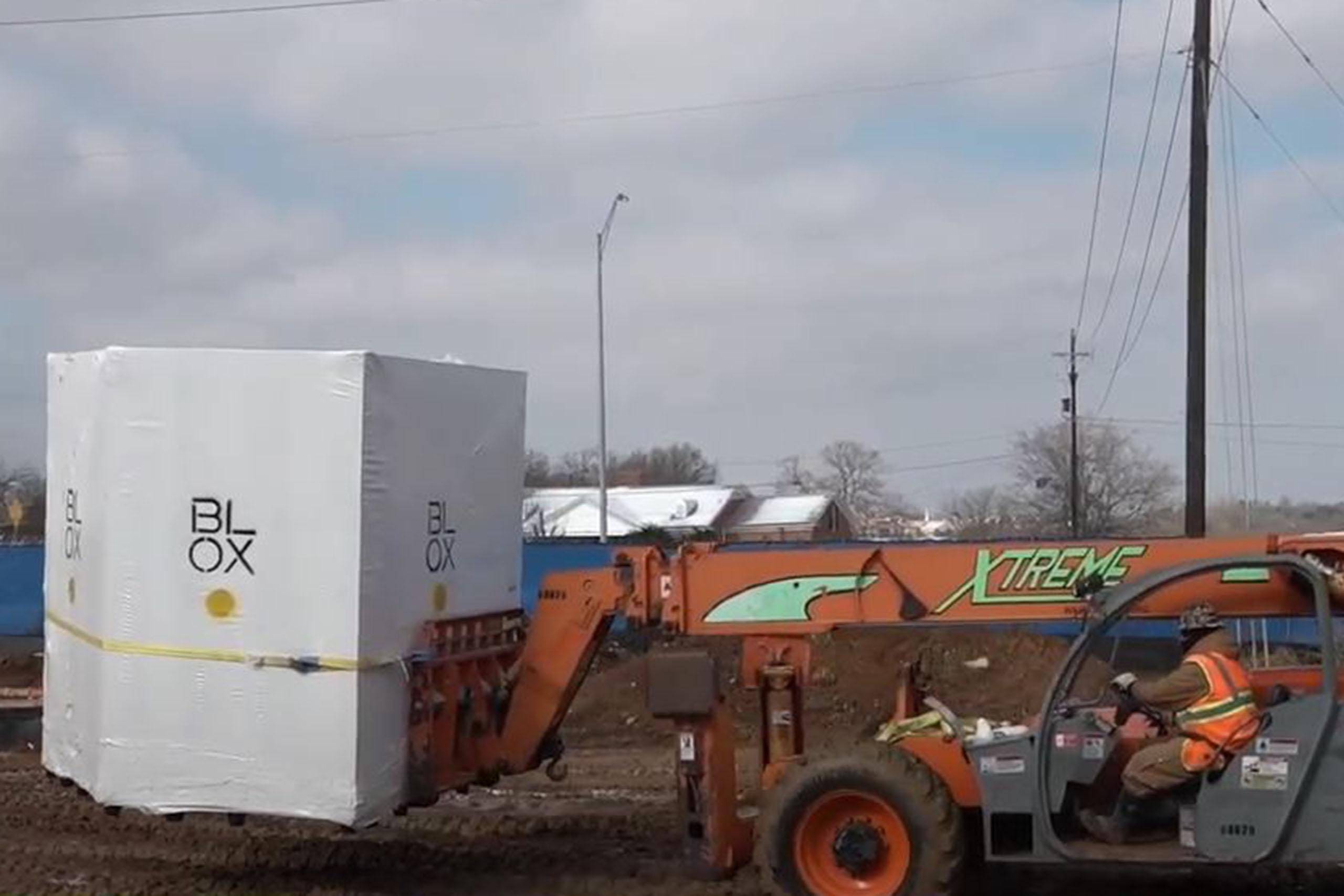 Modular Construction Bathroom Installation